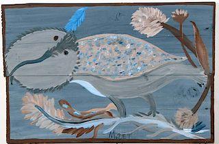 Outsider Art, Mose Tolliver, Barn Owl