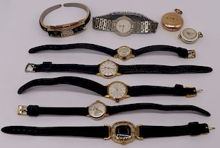JEWELRY. Assorted Watches Inc. Corum Romvlvs.