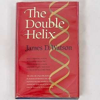 James D. Watson The Double Helix First Edition