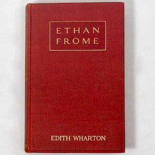 Edith Wharton - Ethan Frome - First Edition First Issue 1911