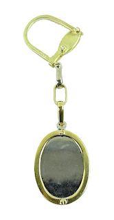 Cartier 18K White & Yellow Gold Key Chain