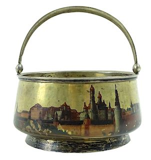 Russian Imperial, Candy Dish 84 Silver Mark