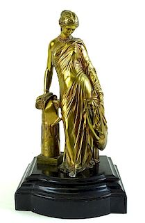 James Pradier 1790-1852 Bronze Sculpture