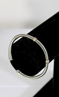 David Yurman Cable Diamond Bracelet