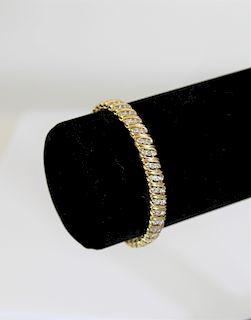 Kingsmill 14k 2.28 Diamond Tennis Bracelet