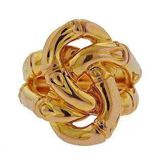 John Hardy 18k Gold Bamboo Ring