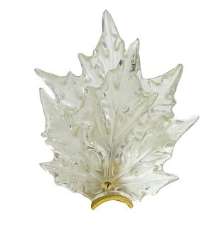 Lalique Champs-Elysees, Chrome Wall Sconce