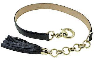 Gucci Signature Horsebit Tassel Women's Belt