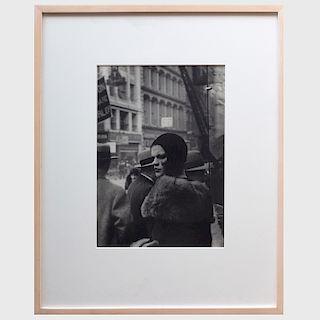 Walker Evans (1903-1975): Girl in Fulton Street, New York
