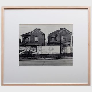 Walker Evans (1903-1975): Houses and Billboards in Atlanta