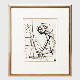 Hans Hofmann (1880-1966): Self Portrait