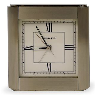 Vintage Tiffany and Co. Desk Clock