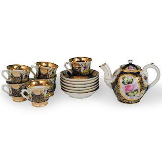 (13 Pc) Russian Kuznetsov Porcelain Set