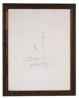 ALBERTO GIACOMETTI, Etching, The Search