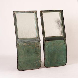 CARRIAGE DOOR MIRRORS