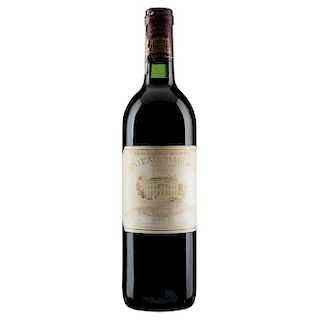 Château Margaux. Cosecha 1988. Gran Vin Premier Grand Cru Classé. Margaux. Nivel: llenado alto.