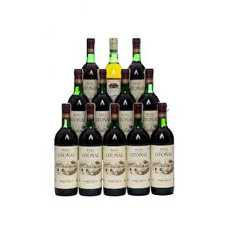 Otoñal. Cosecha 1995 y C.V.C. Rioja. Nivel: once en el cuello y uno en el hombro superior. Piezas: 12.