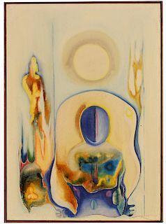 C. Murugesan (India, 20th C) '71 Abstract Painting
