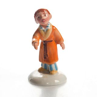 ROYAL DOULTON FIGURINE, JAMES AND THE SNOWMAN