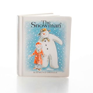 ROYAL DOULTON THE SNOWMAN BY RAYMOND BRIGGS, COIN BANK