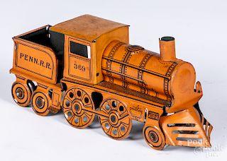 Mohawk Penn R. R. train engine and tender