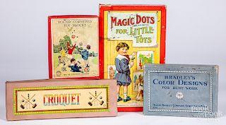 Milton Bradley Magic Dots for Little Tots game, etc.
