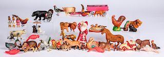 Large group of miscellaneous animals