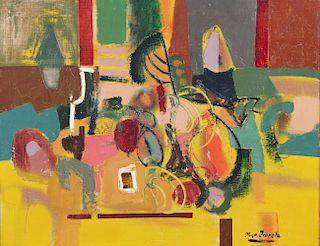 Hugo Irureta (Argentine, b. 1929) Oil Painting on board