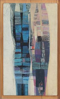 Zdravko Ducmelic (Argentine, 1923-1989) Oil Painting