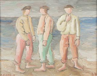 Luis Seoane (Argentine, 1910-1979) Oil Painting