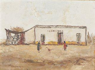 Enrique Policastro (Argentine, 1898-1971) Oil Painting