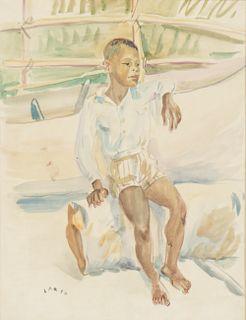 Jorge Larco (Argentine, 1897-1967) Watercolor