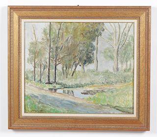 Eugenio Daneri (Argentine, 1881-1970) Oil Painting