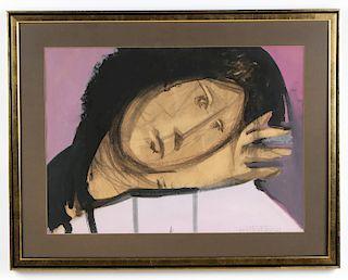 Juan Batlle Planas (Argentine, 1911-1966) Watercolor