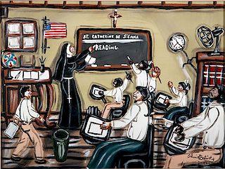 Outsider Art, Alvin Batiste, St. Catherine of Sienna (School room)