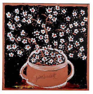 Outsider Art, Jimmy Lee Sudduth, Blossoms
