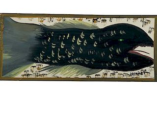 Outsider Art, Mose Tolliver, Fish