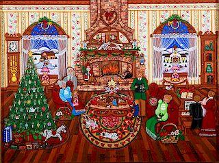 Outsider Art, Linda M Truty, Christmas Memories
