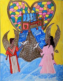 Outsider Art, Linda Bruton, Angels
