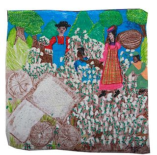 Outsider Art, Linda Bruton, Cotton