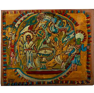 Outsider Art, Rudolph Bostic, The Temple of the Lord