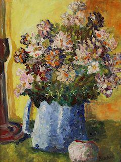 MAX KUEHNE (GERMAN-AMERICAN, 1880 - 1968).