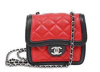 Chanel Tri-Color Mini Crossbody Bag 2012