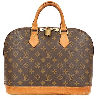 Louis Vuitton Monogram Alma PM Bag 1999