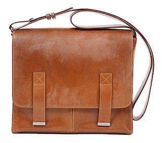 Vintage Yves Saint Laurent Besace MM Messenger Bag