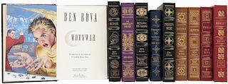 Bobva, Ben. Obras. Signed First Edition. Norwalk, Connecticut: The Easton Press. Piezas: 10.