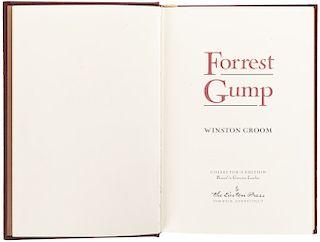 Groom, Winston. Forrest Gump. Norwalk, Connecticut: The Easton Press, 2002. Primera edición firmada.