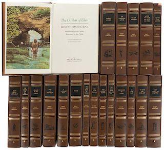 Hemingway, Ernest. Obras. Norwalk, Connecticut: The Easton Press, 1970 / 1990 / 1999. Piezas: 20.