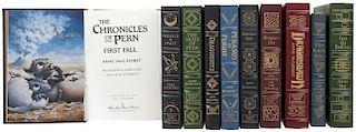 Effinger, George Alec / May, Julian / McCafrey, Anne. Obras. Signed First Edition. Norwalk, Connecticut: The Easton Press. PiezaS: 10.