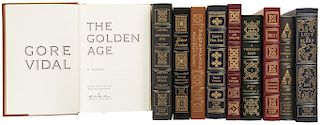 Obras Firmadas por los Autores. Stahl, Lesley / Crowley, John / Rather, Dan / Zebrowski, George / Foster, Alan. Piezas: 10.